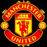 Man Utd soccer team logo